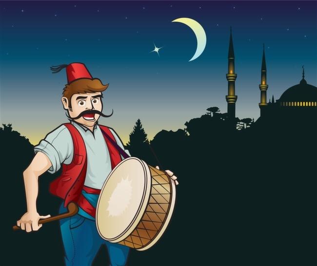 Ramazan-Davulcusu-Ramazan-Ayı-Sahur