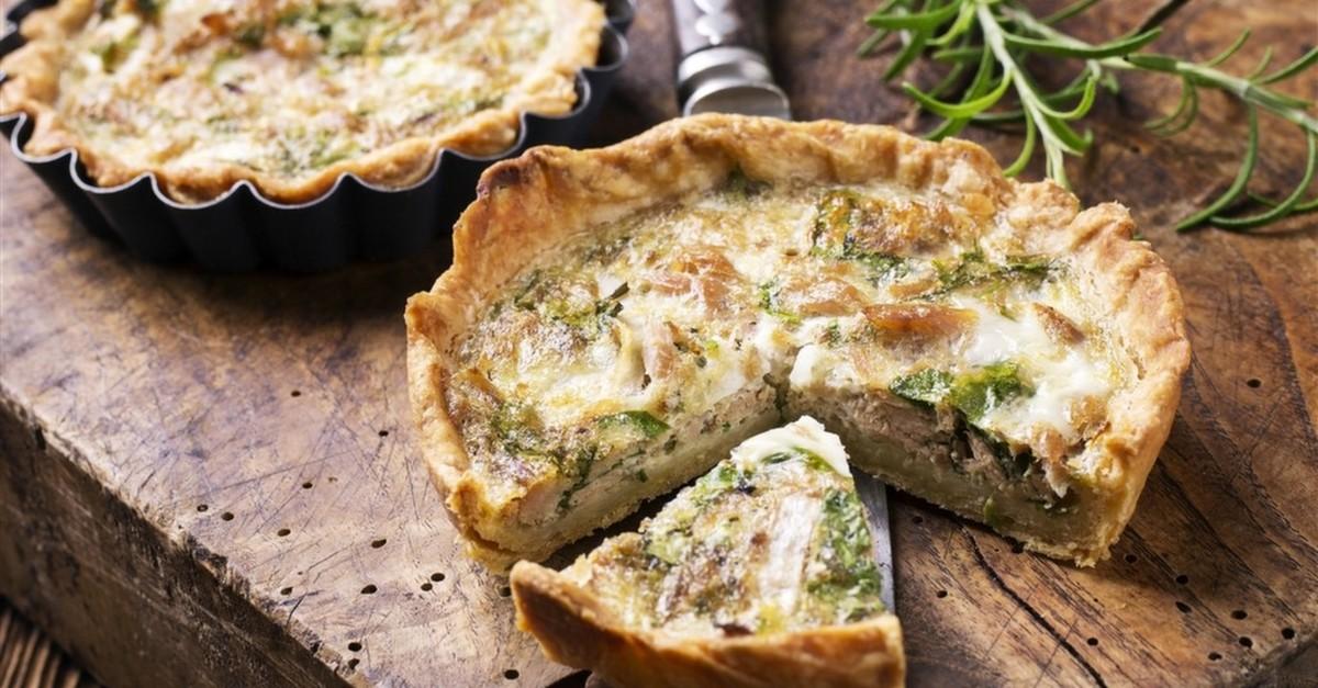 Открытый французский пирог рецепт с