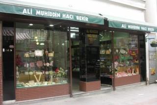 Ali Muhiddin Hacı Bekir, Beyoğlu