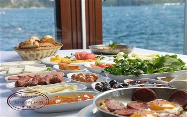 İskele Can Restaurant & Cafe Sarıyer'de Denize Nazır, Tertemiz Bir Hava Eşliğinde Kahvaltı Keyfi