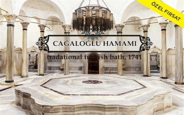 Tarihi Cağaloğlu Hamamı'nda Hamam Kullanımı, Kuru Masaj, Kese, Köpük Masajı ve İkramlar