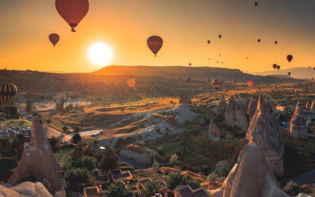 Ankara Kalkışlı Kapadokya, Ürgüp, Üç Güzeller, Göreme ve Tuz Gölü Turu
